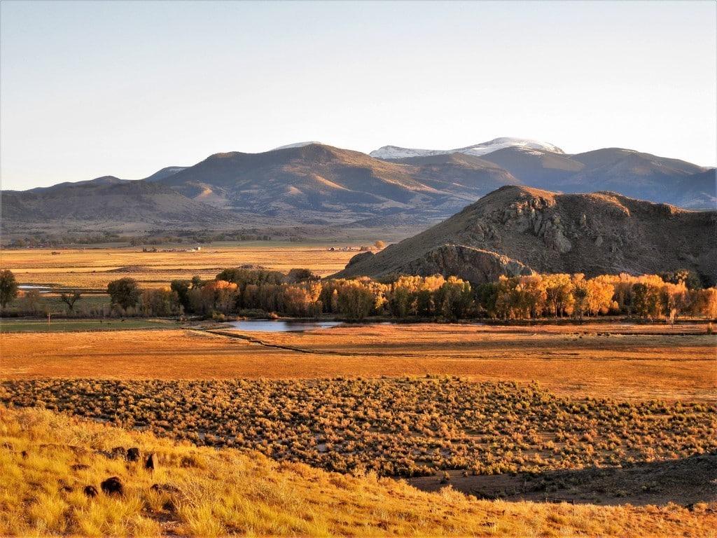 mountain landscape county road 15 del norte