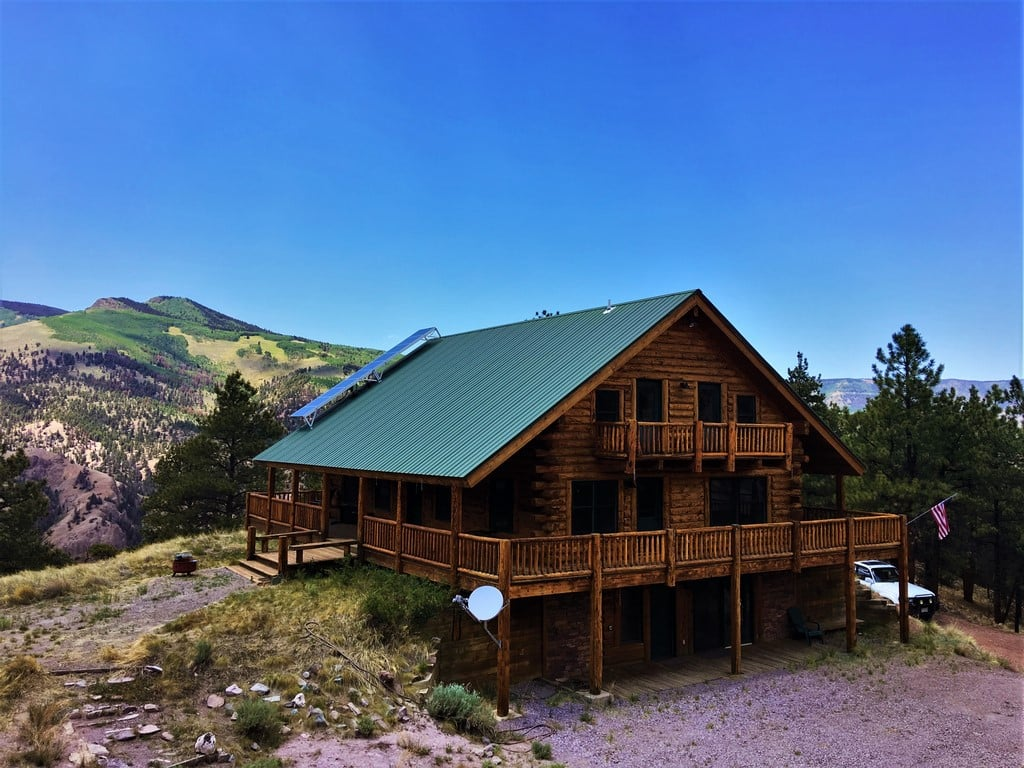 steel park skyline cabin ranch