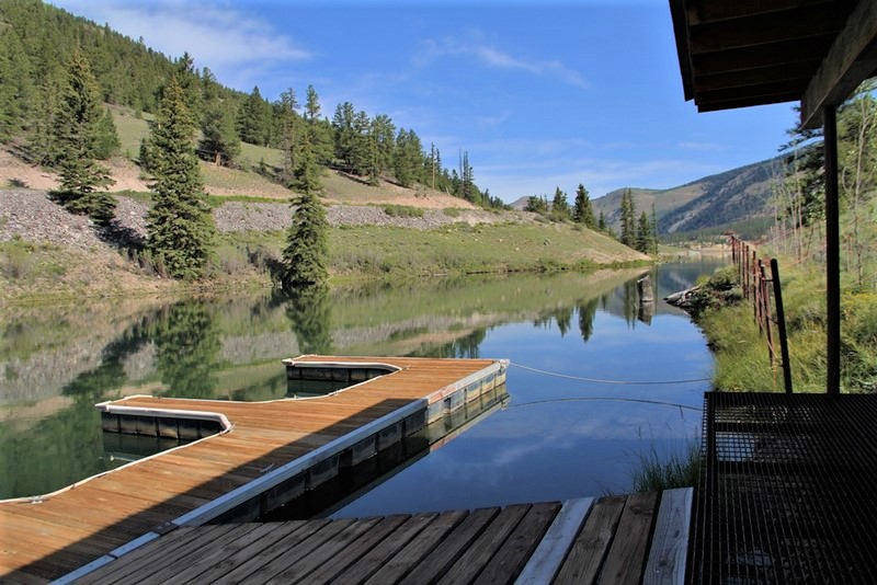 Lake San Cristobal Island Ranch Boat Dock 2