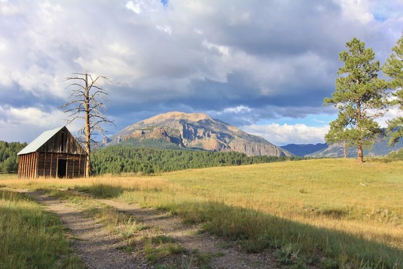 Piedra Forks Ranch - Colorado Log Home