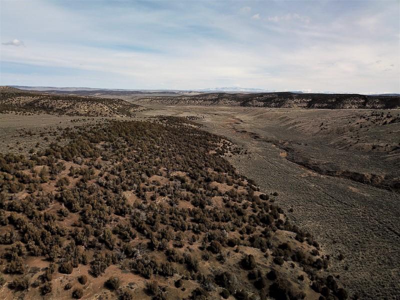 Juniper Mountain Ranch Land Aerial