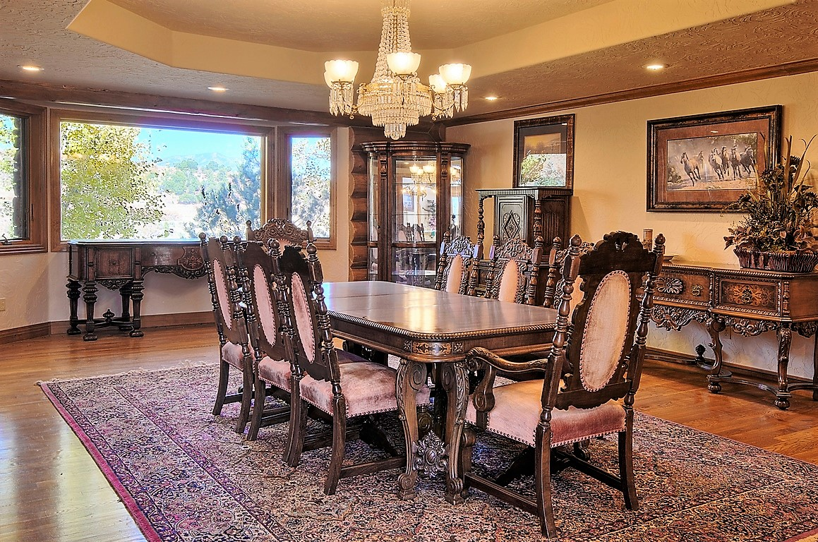 Indian Creek Ranch Dining Room