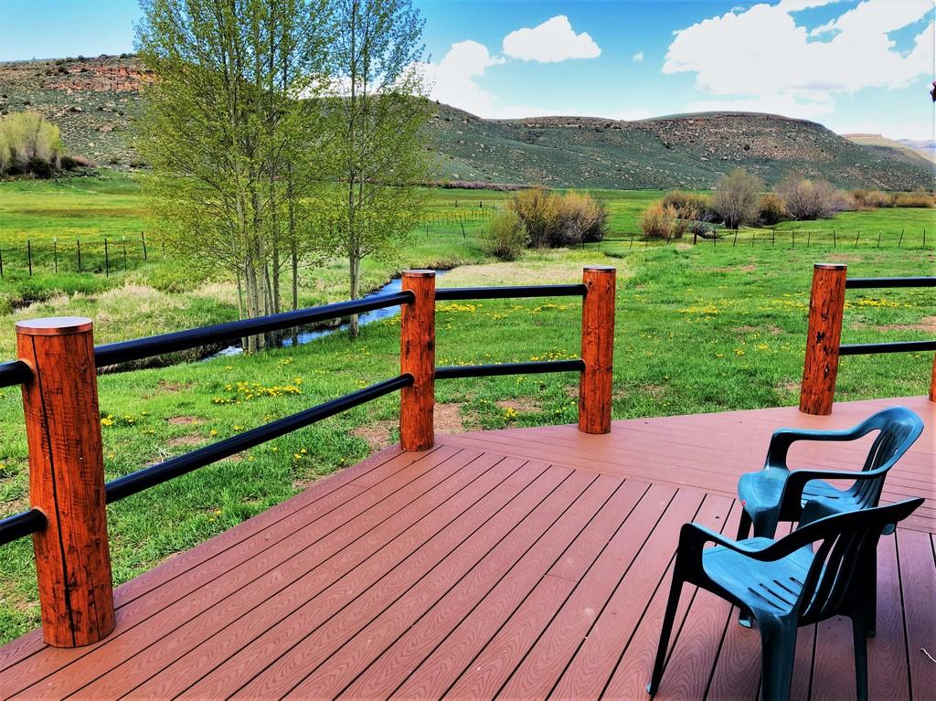 Circle J Ranch Outdoor Deck