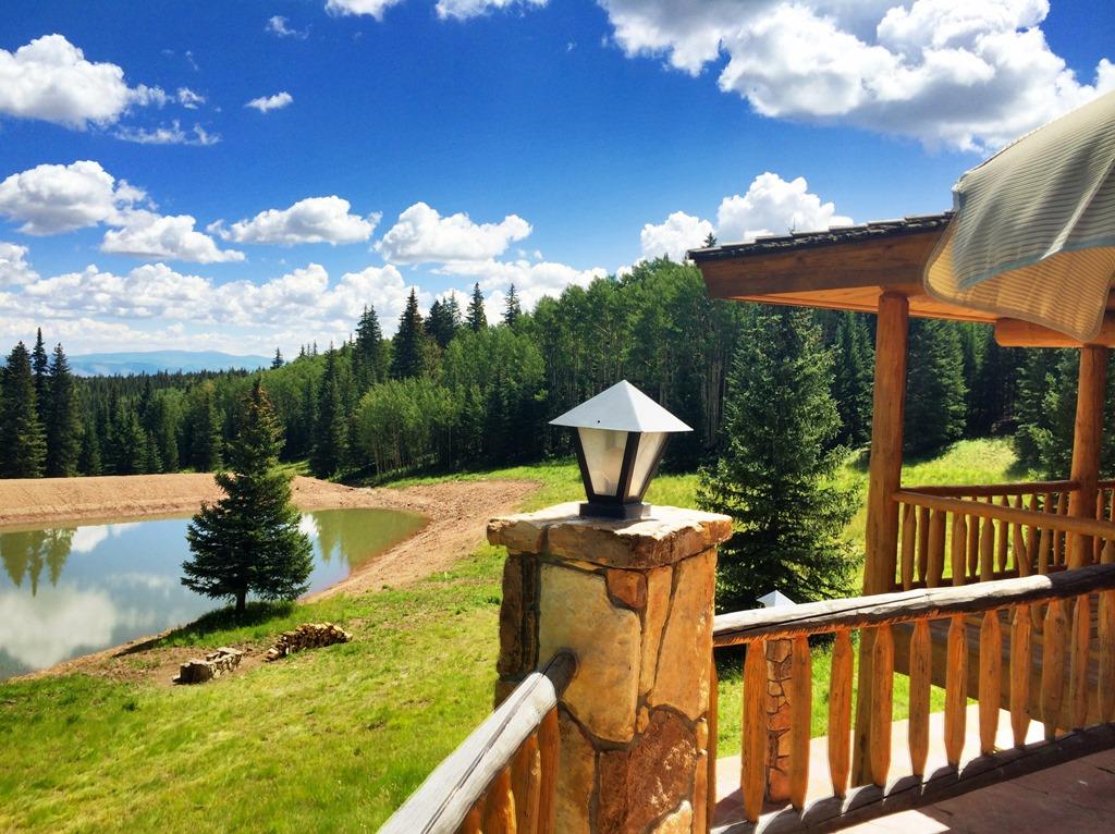Little Willow Ranch Deck & Lake