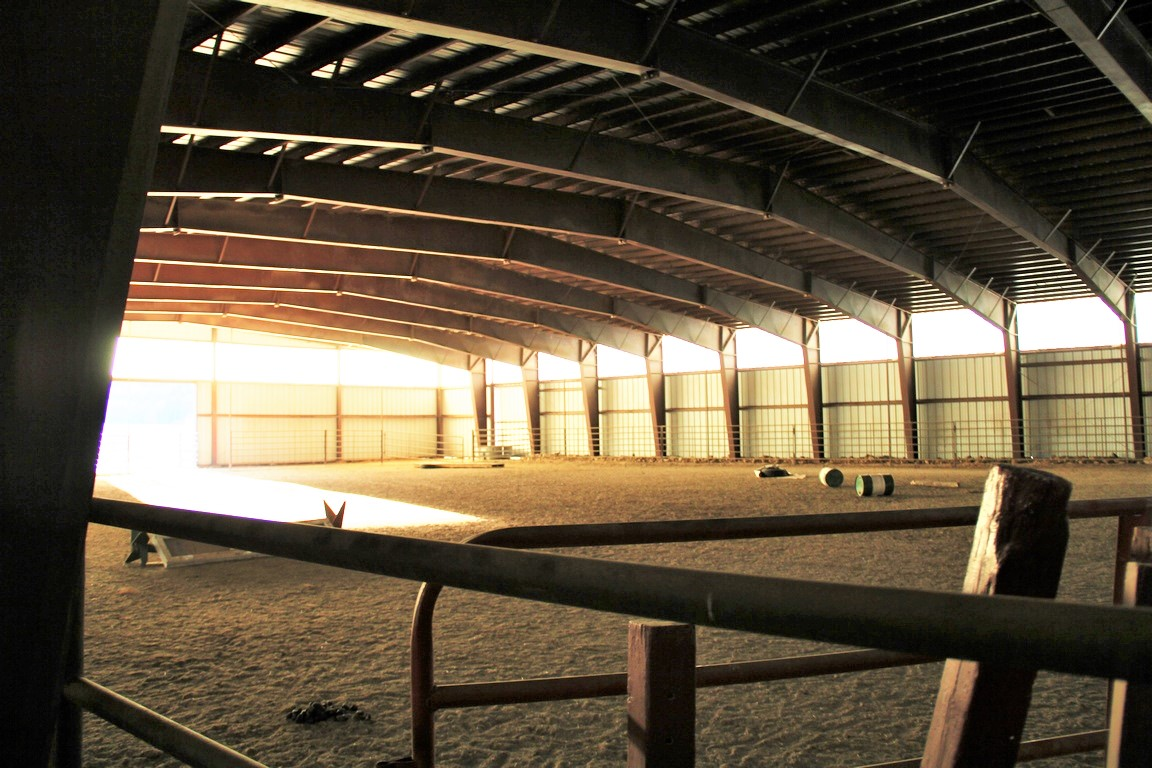 Lake Fork River Ranch Stable Interior