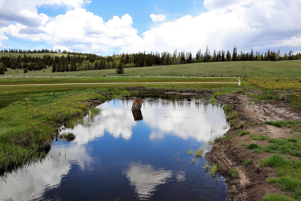 Live Water Land in Saguache, CO - Los Creek Ranch