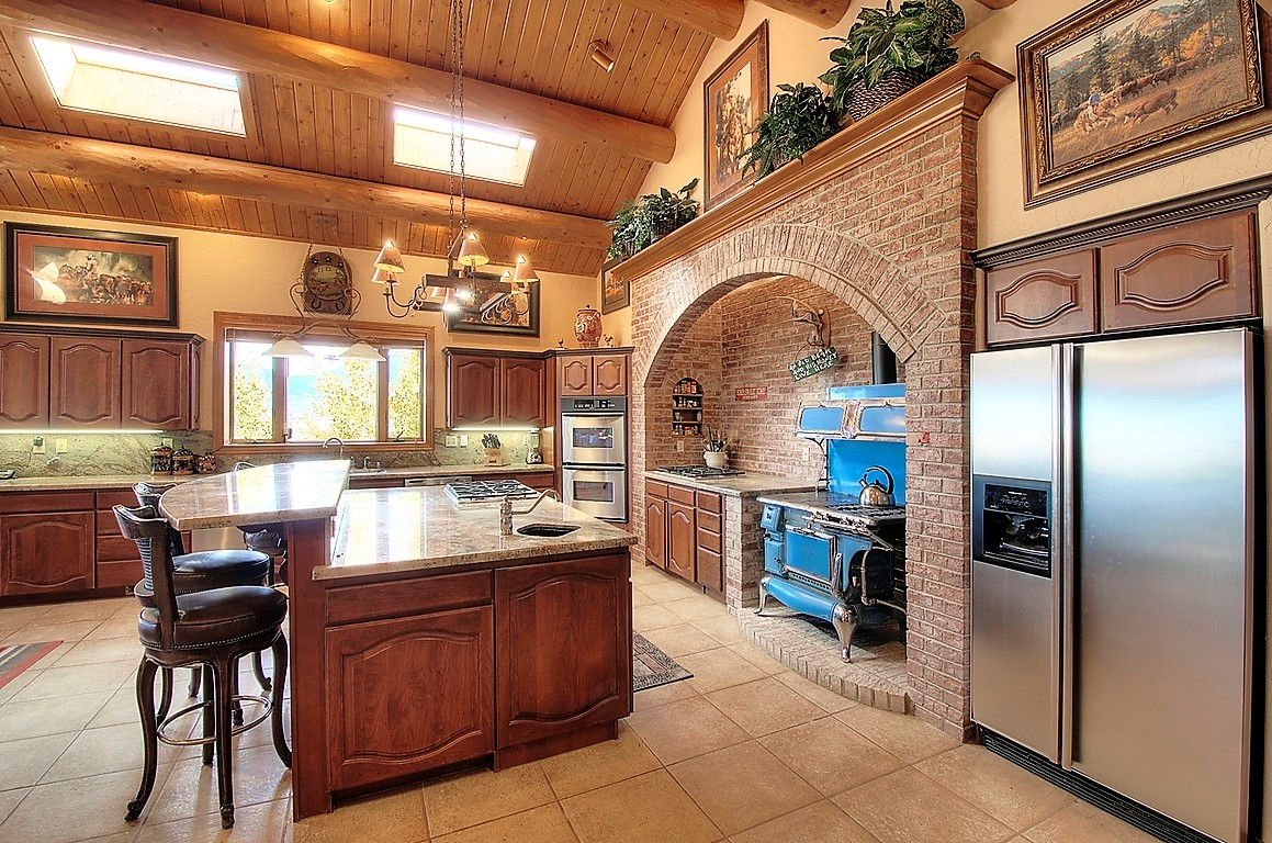 Indian Creek Ranch Kitchen Interior