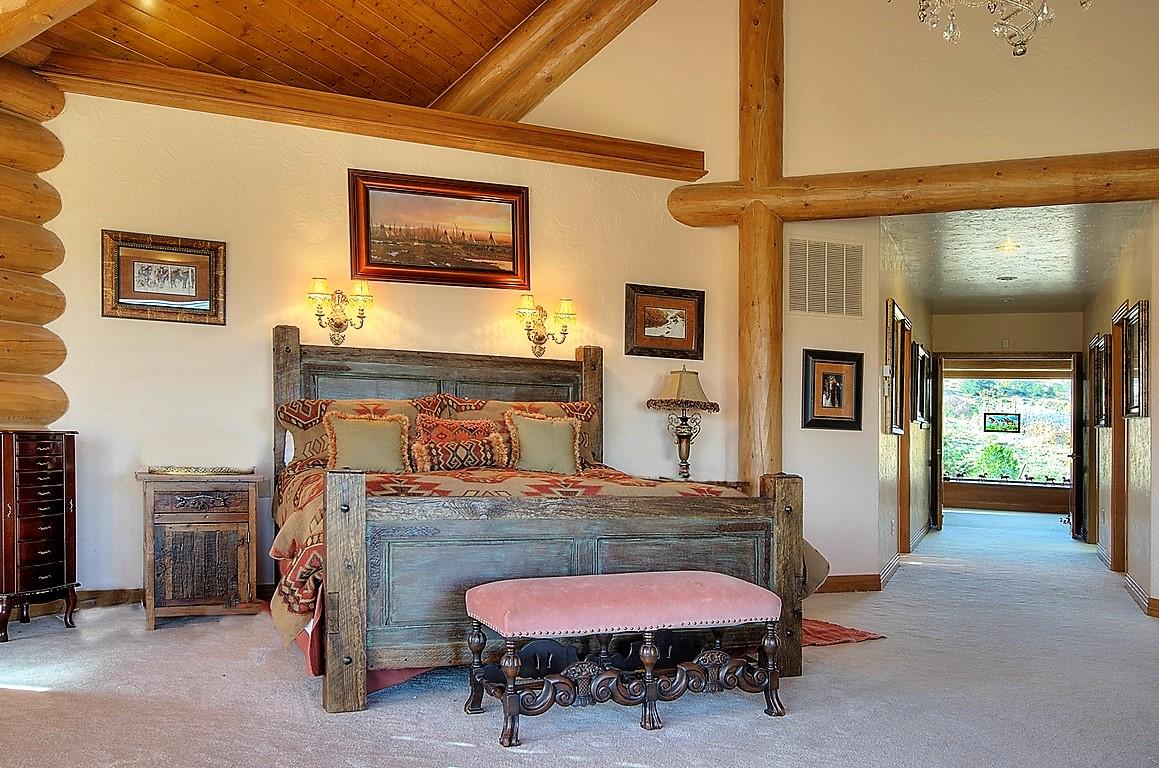Indian Creek Ranch Master Bedroom