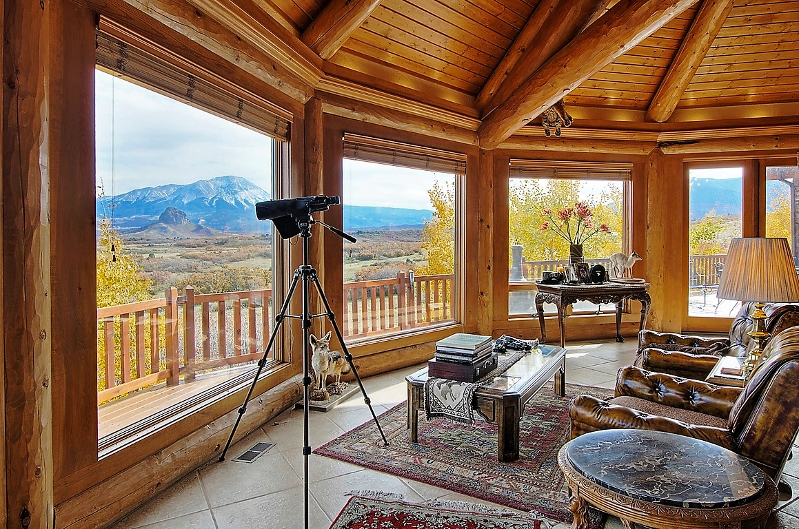Indian Creek Ranch Observation Room