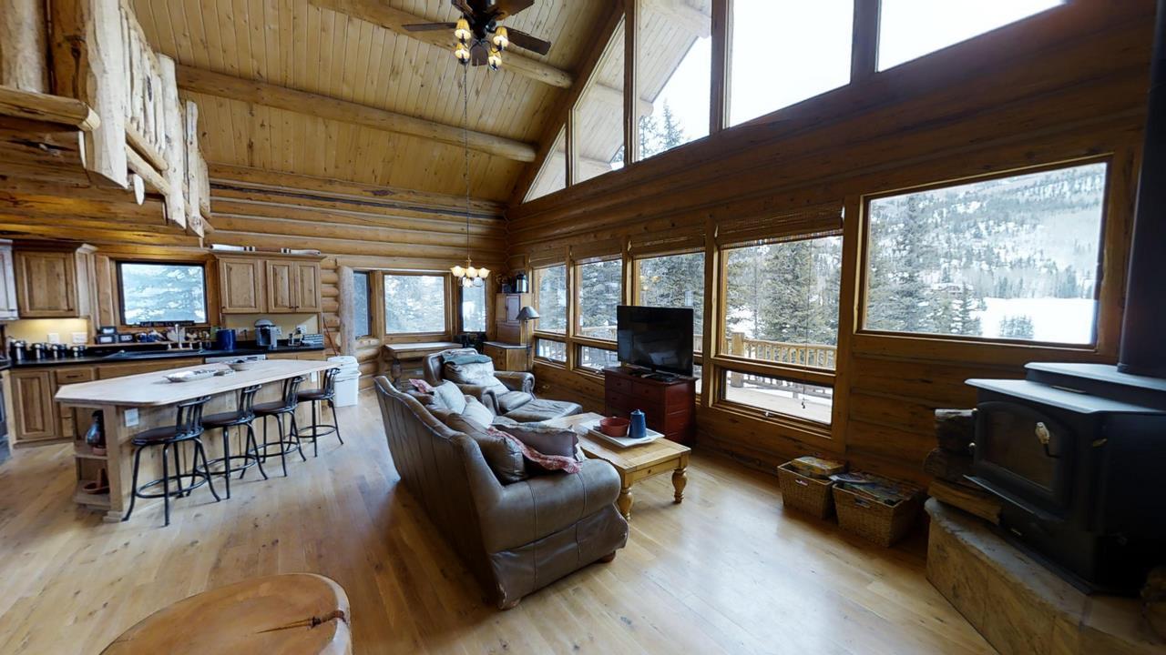 Red-Cloud-Ranch-Overlook-Cabin-1- Living Room