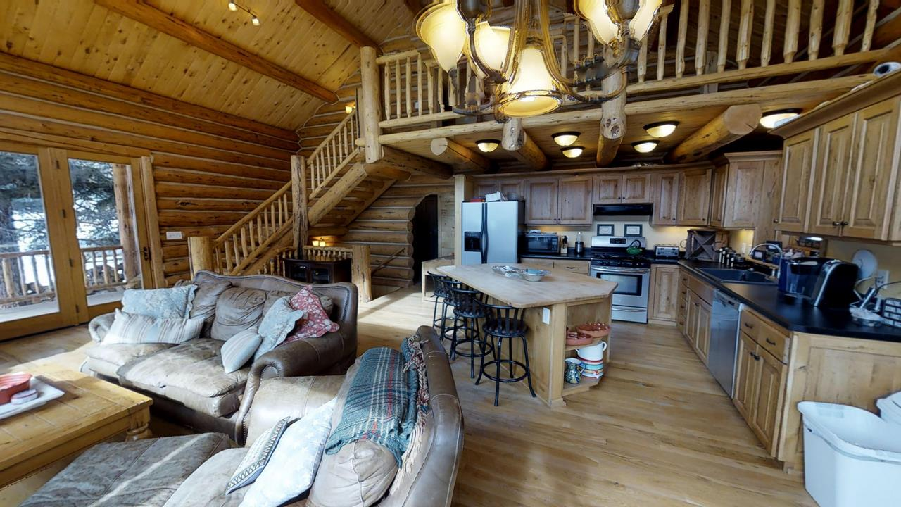 Red-Cloud-Ranch-Overlook-Cabin-1 - Kitchen