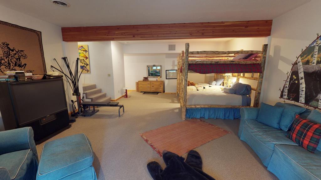 Serenity in the Lake Fork Hunt & Fish Club - Basement Bedroom