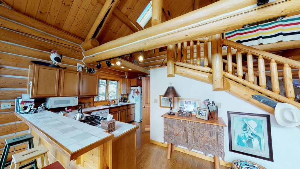 Serenity in the Lake Fork Hunt & Fish Club - Kitchen & Stairs