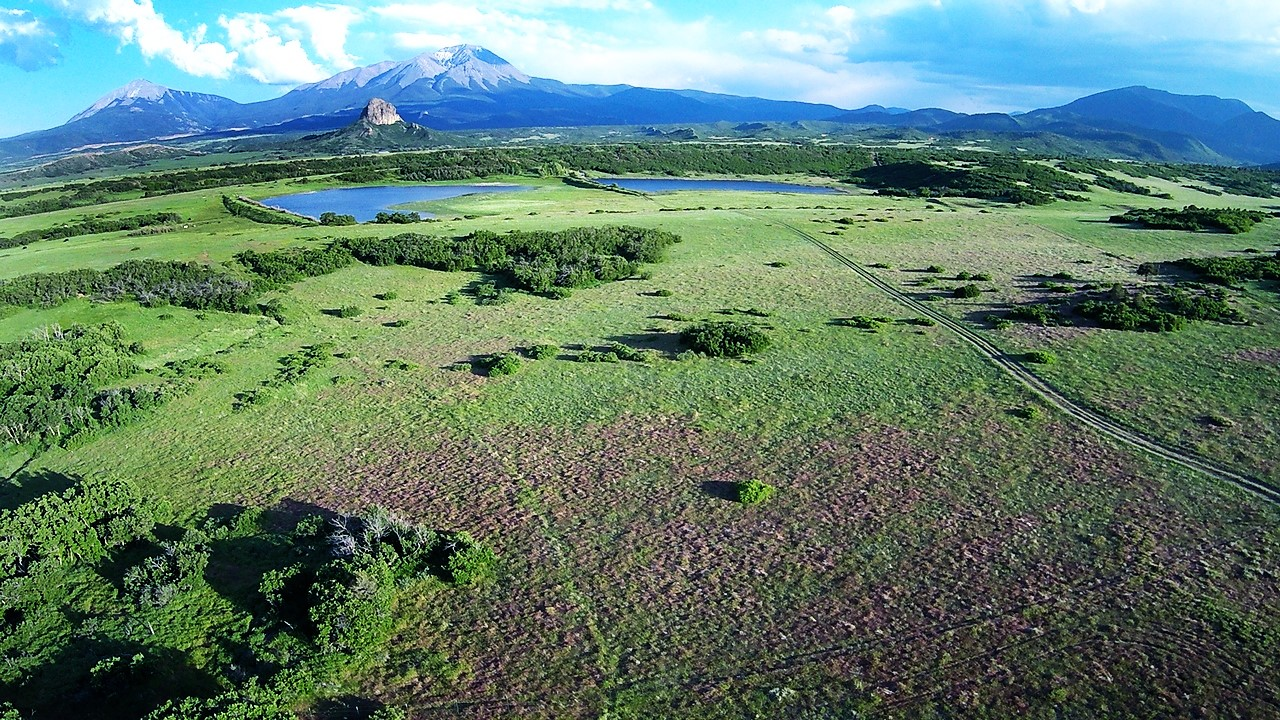 Indian Creek Ranch Aerial View