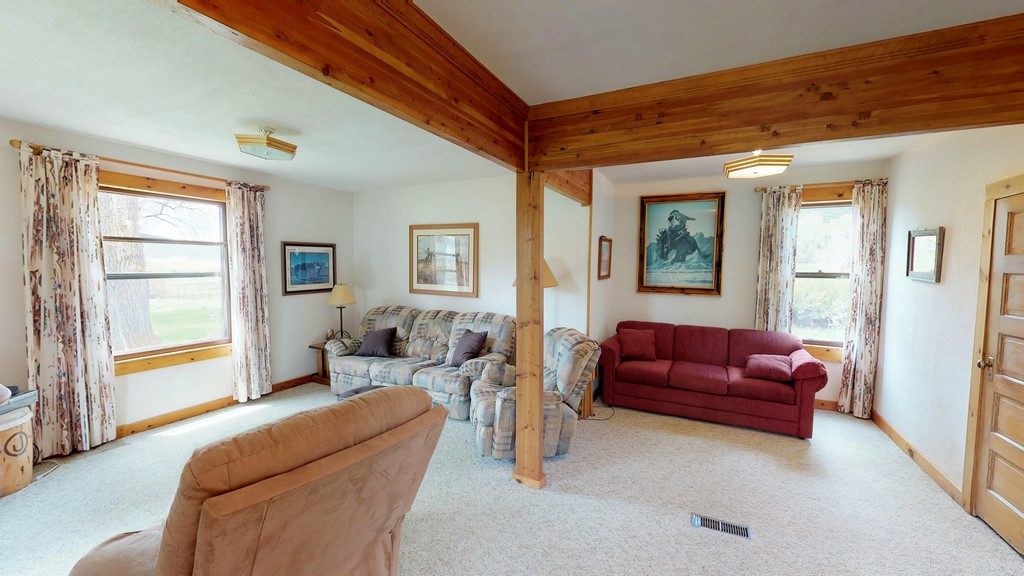 Circle J Ranch Interior - Living Room