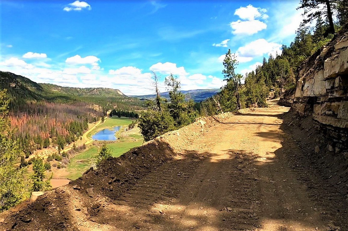 La Plata Mountain Ranch Road