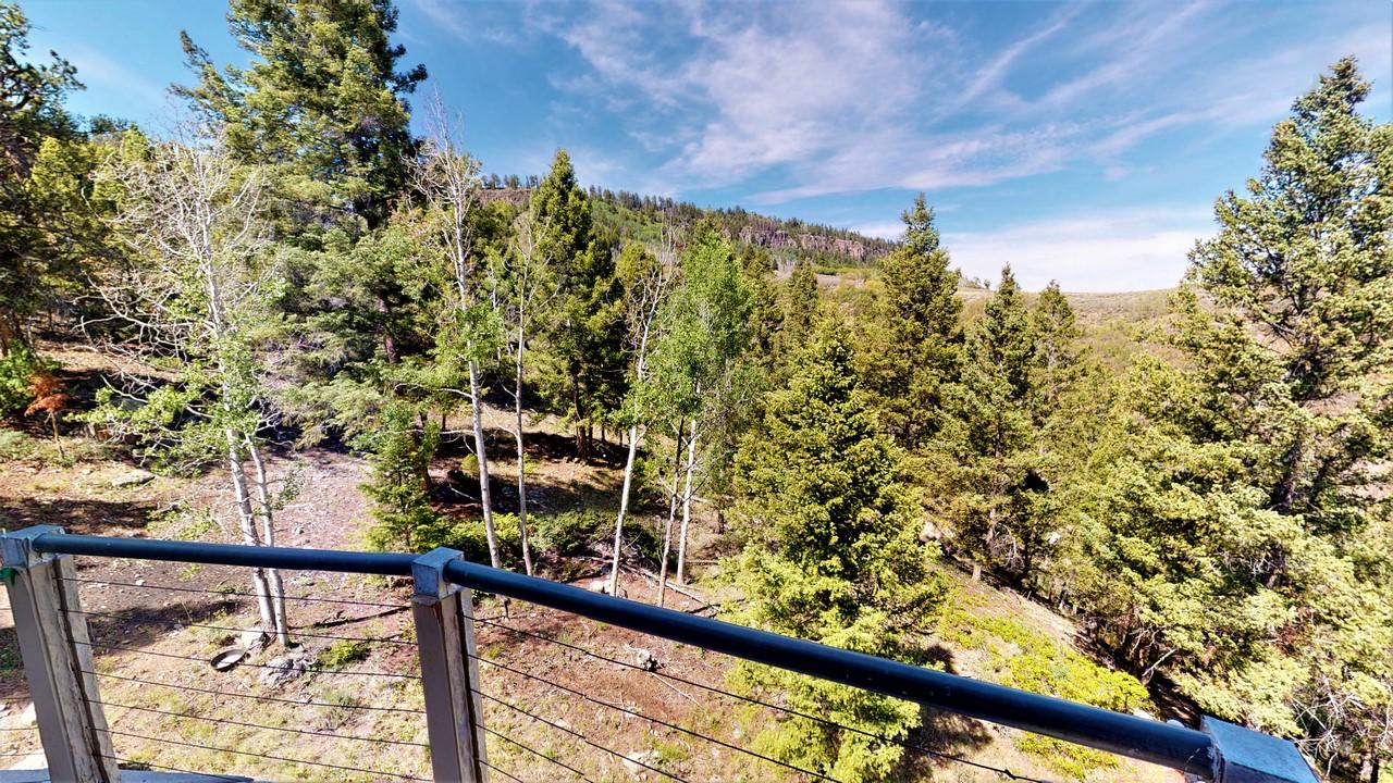 Thendara Ranch - Patio View