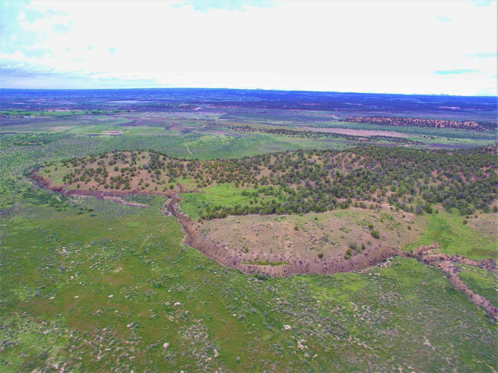 Mesa Verde Ranch Land Aerial